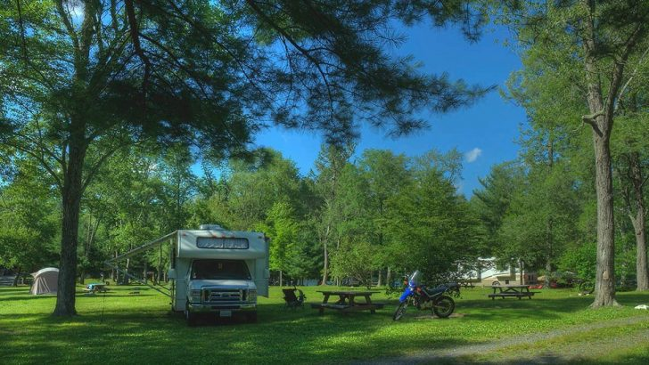 Have your night stay in one of the best Campground in Connecticut